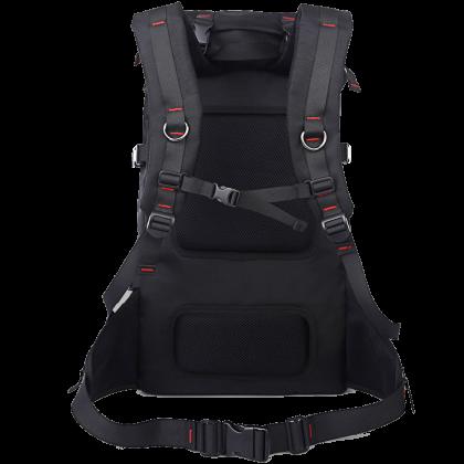 Unisex KAKA Quality & Stylish Black Travel Heavy Duty Backpack 2010 LCB -RF5