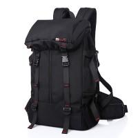 Unisex KAKA Black Series Cushion Padded Waist Belt Travel Heavy DutyBackpack 2060 LA3