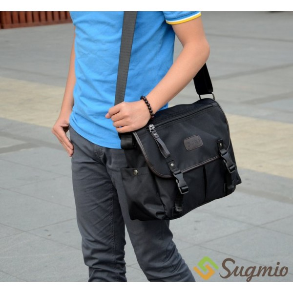 Man Formal Office Laptop Business Messenger Bag Sling Yn1 3031