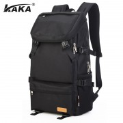 KAKA Unisex Alien Head Series Large Cushion Padded Short Trip Travel / College Backpack 88005 YR1