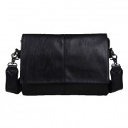 Man Charcoal Black Stylish Quality Sling Bag MC005 (Free Gift)