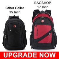 MC049 - Swiss Gear Large Capacity Multi-purpose Backpack / Travel Adventure Multiple-Pockets Laptop Bag RE2