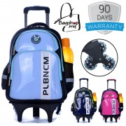 MC061 - Trolley Backpack / Wheeled School Bag / Student Bag on Wheels / Children Bag - E2
