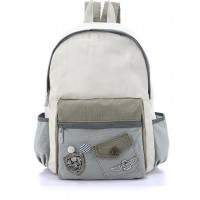 MC080 - Canvas Backpack / School Bag(Redeemable product)