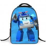 Robocar - Kids Bag / Primary School Bag / Robocar Backpack  (Free Gift)