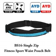 BS16 - Single Zip Fitness Sport Waist Pouch Belt(Promo Price)RH4
