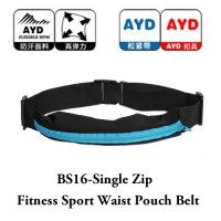BS16 - Single Zip Fitness Sport Waist Pouch Belt(Promo Price)
